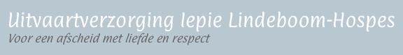 utfeartbegelieding Iepie Lindeboom-Hospes